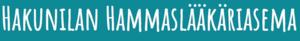 Hakunilan hammaslääkäriasema logo